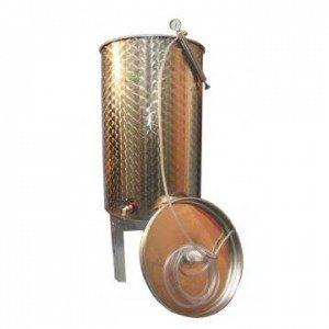 Cisterna Inox cu capac flotant